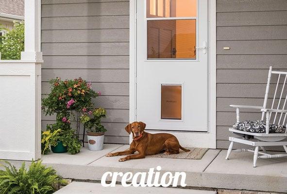 Creation-LARSON_37079_Door_with_Dog